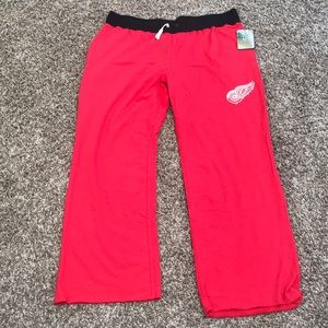 Pants - Detroit Red Wings Sweatpants NWT Size XXL